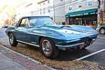1967 CHEVROLET CORVETTE CONVERTIBLE - Front 3/4 - 96178