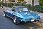 1967 CHEVROLET CORVETTE CONVERTIBLE - Rear 3/4 - 96178