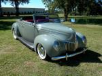 1939 FORD DELUXE CUSTOM CONVERTIBLE - Front 3/4 - 96192