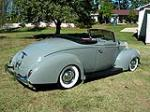 1939 FORD DELUXE CUSTOM CONVERTIBLE - Rear 3/4 - 96192