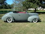 1939 FORD DELUXE CUSTOM CONVERTIBLE - Side Profile - 96192