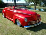 1948 FORD DELUXE CUSTOM CONVERTIBLE - Front 3/4 - 96193