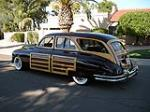 1948 PACKARD CUSTOM WOODIE WAGON - Side Profile - 96258