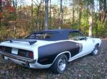 1971 PLYMOUTH CUDA CUSTOM CONVERTIBLE - Rear 3/4 - 96260