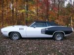 1971 PLYMOUTH CUDA CUSTOM CONVERTIBLE - Side Profile - 96260