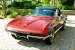 1965 CHEVROLET CORVETTE CONVERTIBLE - Front 3/4 - 96333