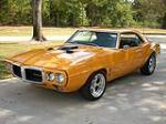 1968 PONTIAC FIREBIRD CUSTOM COUPE - Front 3/4 - 96376