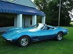 1968 CHEVROLET CORVETTE CONVERTIBLE - Front 3/4 - 96467