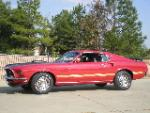 1969 FORD MUSTANG MACH 1 428 SCJ 2 DOOR FASTBACK - Side Profile - 96487