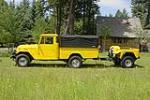 1967 TOYOTA LAND CRUISER CUSTOM TRUCK - Side Profile - 96494