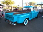1957 CHEVROLET 3200 CUSTOM PICKUP - Rear 3/4 - 96504