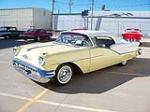 1957 OLDSMOBILE 98 STARFIRE CONVERTIBLE - Front 3/4 - 96558