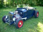 1929 FORD HI-BOY CUSTOM ROADSTER - Front 3/4 - 96606