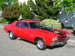 1970 CHEVROLET CHEVELLE SS 396 CUSTOM COUPE - Front 3/4 - 96636