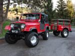 1980 JEEP CJ-7 CUSTOM SUV - Front 3/4 - 96642