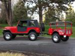 1980 JEEP CJ-7 CUSTOM SUV - Side Profile - 96642