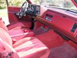 1990 CHEVROLET 454SS PICKUP - Interior - 96667