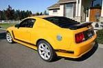 2007 FORD MUSTANG SALEEN PARNELLI JONES LIMITED EDITION - Rear 3/4 - 96695