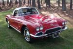 1962 CHEVROLET CORVETTE CONVERTIBLE - Front 3/4 - 96717