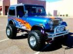 1983 JEEP CJ-7 CUSTOM - Front 3/4 - 96811