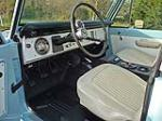 1968 FORD BRONCO CUSTOM 4X4 - Interior - 96883