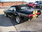 1967 FORD MUSTANG CUSTOM CONVERTIBLE - Rear 3/4 - 96910