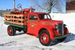 1948 DIAMOND T FLAT BED TRUCK - Front 3/4 - 96973