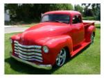 1949 CHEVROLET 5 WINDOW CUSTOM PICKUP - Front 3/4 - 97018