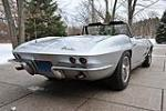 1963 CHEVROLET CORVETTE CONVERTIBLE - Rear 3/4 - 97079