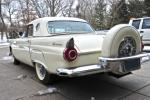 1956 FORD THUNDERBIRD CONVERTIBLE - Rear 3/4 - 97081