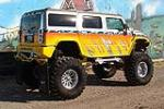 2003 HUMMER H2 CUSTOM SUV - Rear 3/4 - 97522