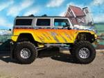 2003 HUMMER H2 CUSTOM SUV - Side Profile - 97522