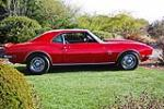 1968 CHEVROLET CAMARO 2 DOOR HARDTOP - Side Profile - 97693