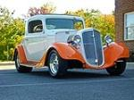 1935 CHEVROLET 3 WINDOW CUSTOM COUPE - Front 3/4 - 97883