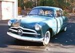 1949 FORD CUSTOM 2 DOOR COUPE - Front 3/4 - 97887