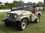 1965 JEEP CJ-5 CONVERTIBLE - Front 3/4 - 97956