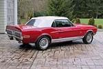 1968 SHELBY GT500 CONVERTIBLE - Rear 3/4 - 98070