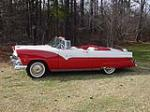 1955 FORD FAIRLANE SUNLINER CONVERTIBLE - Side Profile - 98210