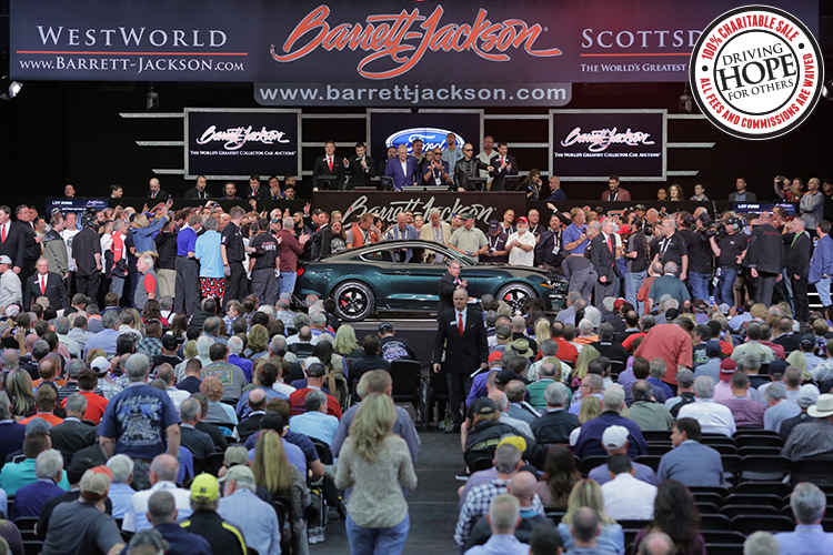 Barrett jackson auction company scottsdale 2018 149500 lot 3006 2019 ford mustang bullitt sciox Image collections